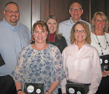 Five C&N Employees Earn Service Awards