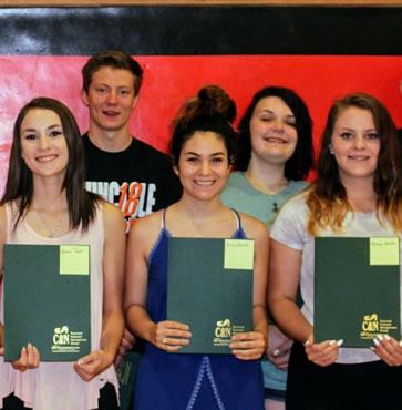 Eight Students Awarded with Galeton Foundation Scholarship