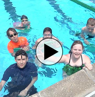Stayin' Cool at the Wellsboro Pool!