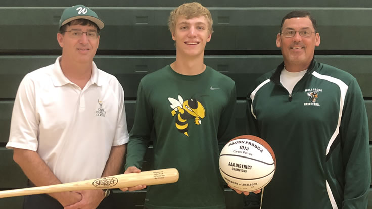Prough honored by Wellsboro Athletic Department
