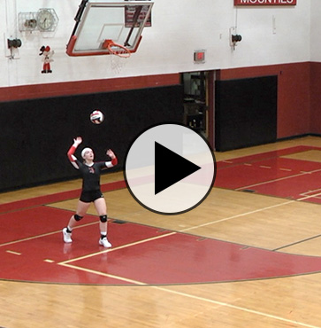 Liberty volleyball sweeps Athens