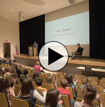 Teacher Wade Owlett Recognized
