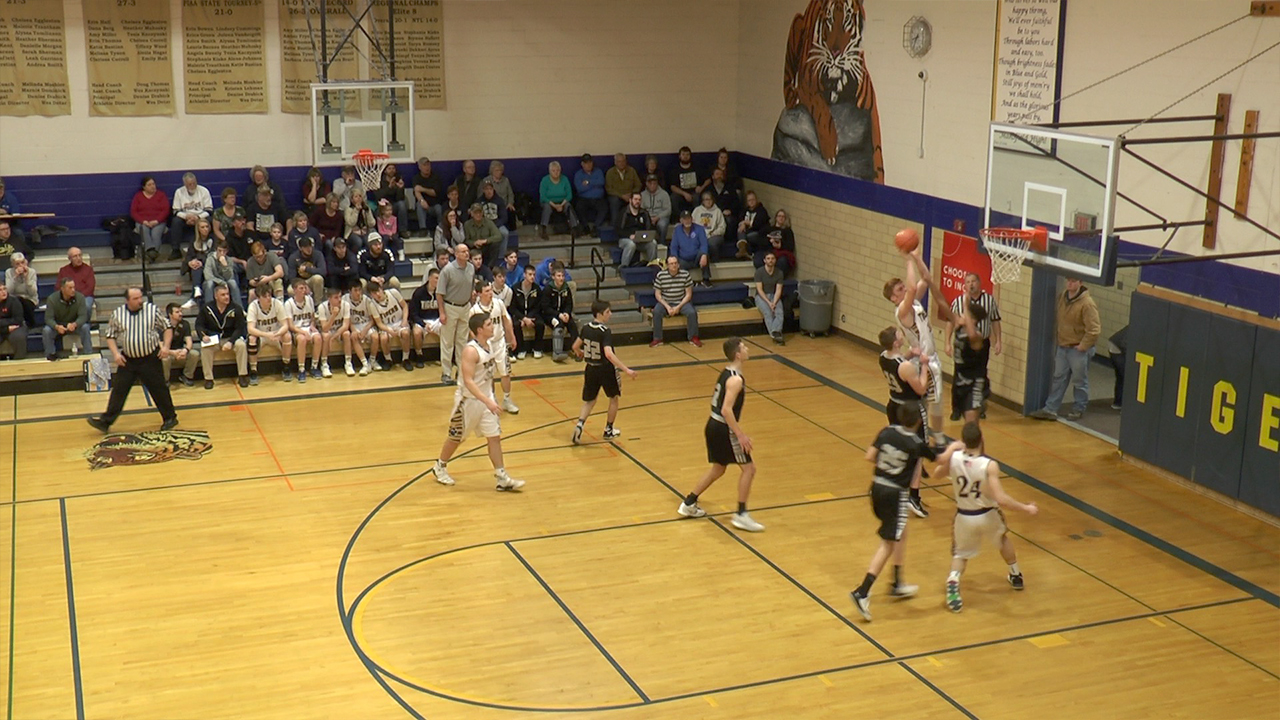Mounties roll to 63-42 win over CV