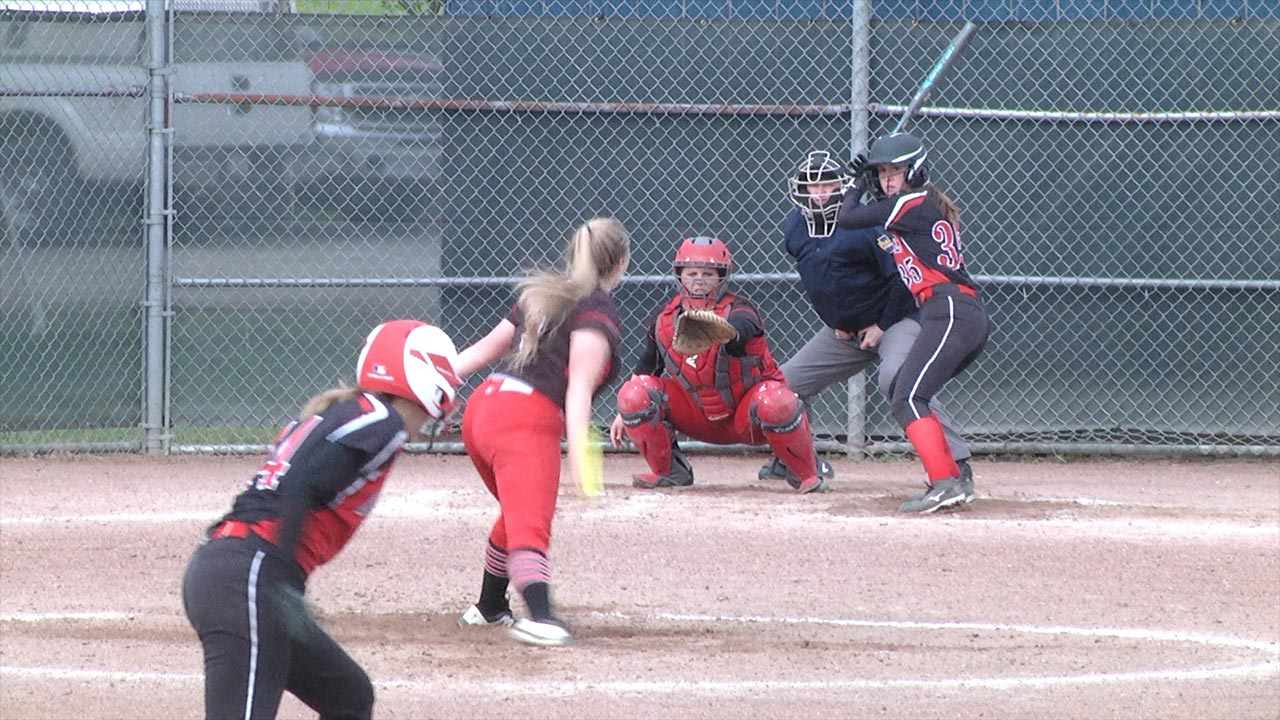 Lady Mounties top Canton, 6-3
