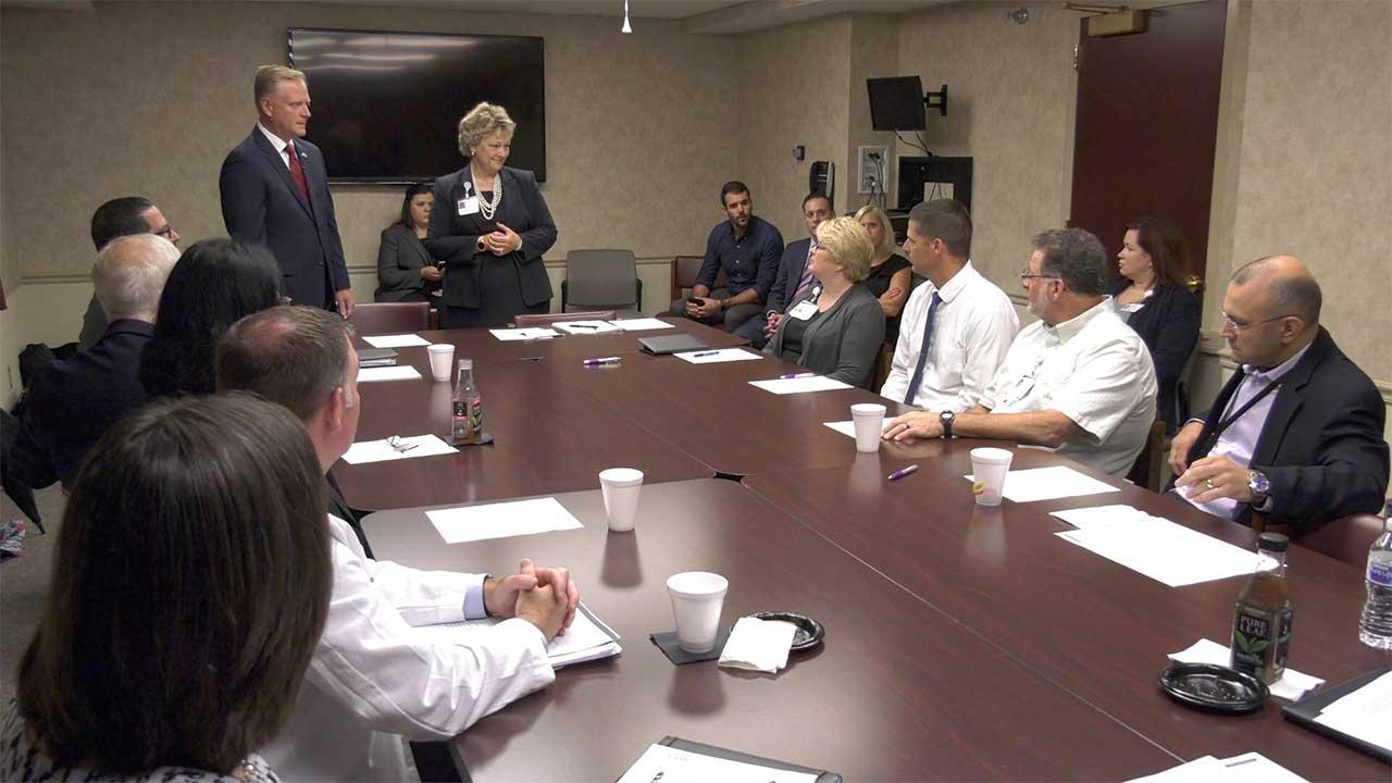 Keller Addresses Healthcare Challenges