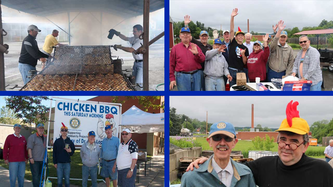 The Rotary Chicken Bar-B-Q is the best!