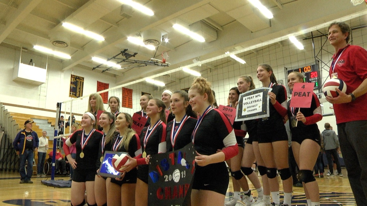 Lady Mounties Win 4th Straight D4 Title