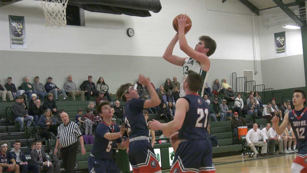 Hornets roll to 80-42 win over Sayre