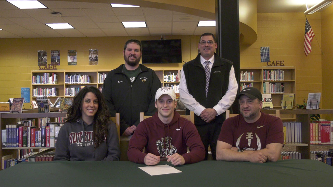Hauser signs National Letter of Intent to Kutztown