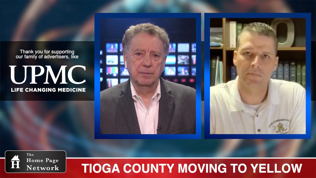 Tioga County Moving to Yellow