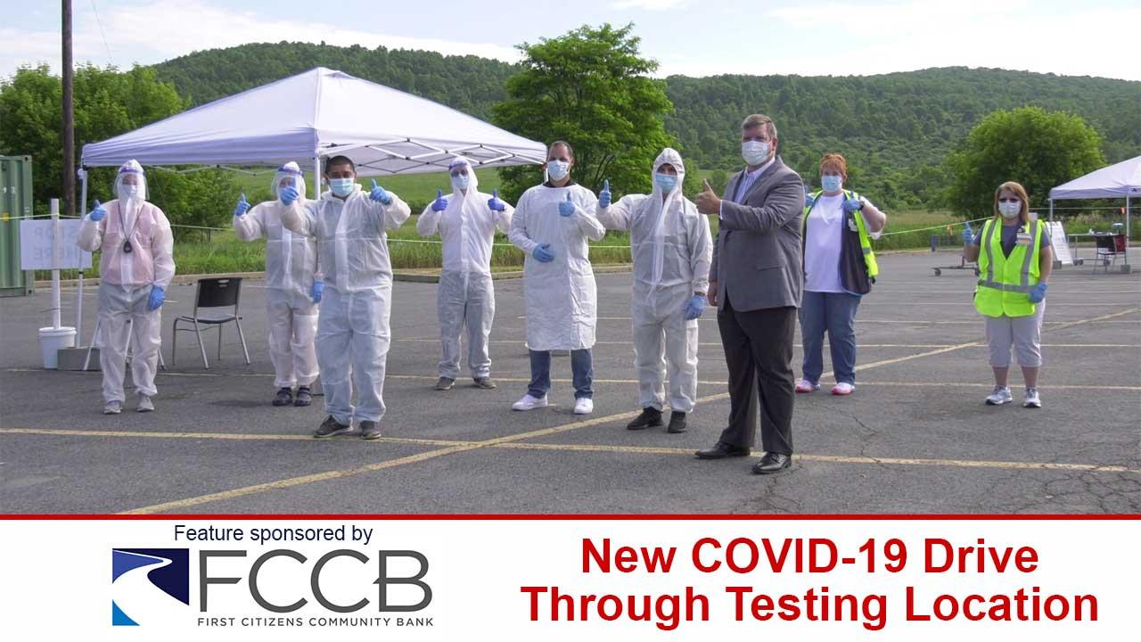 COVID-19 Drive Through Testing