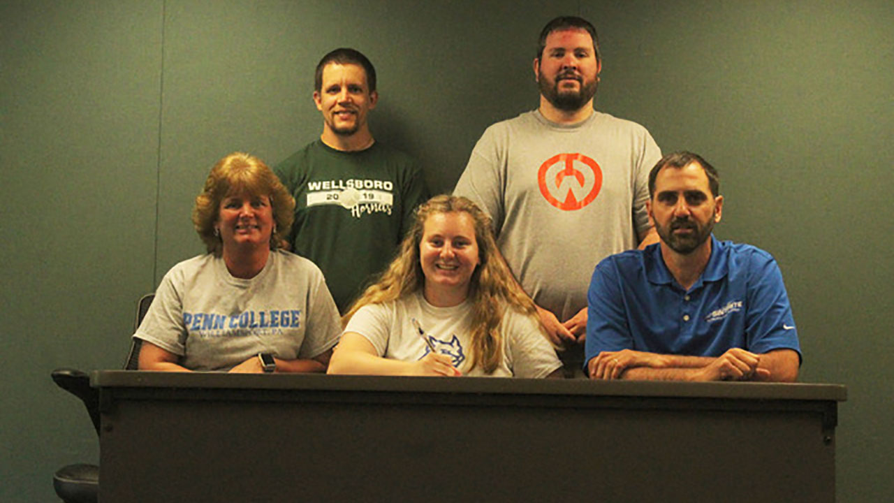 Macensky joins Penn College Tennis team