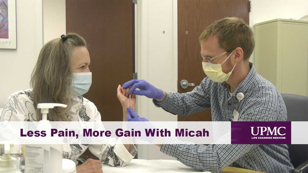 Less Pain, More Gain With Micah