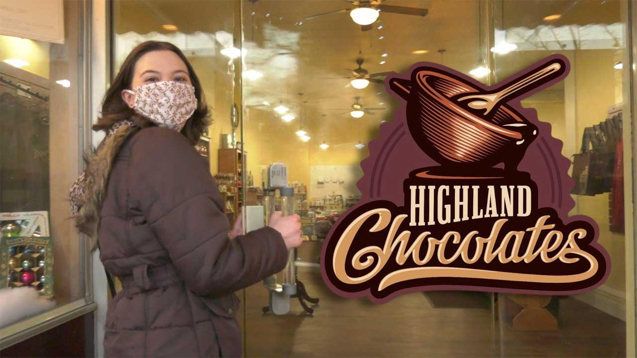 Happy Holidays from Highland Chocolates