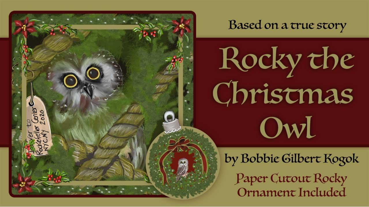 Rocky The Christmas Owl