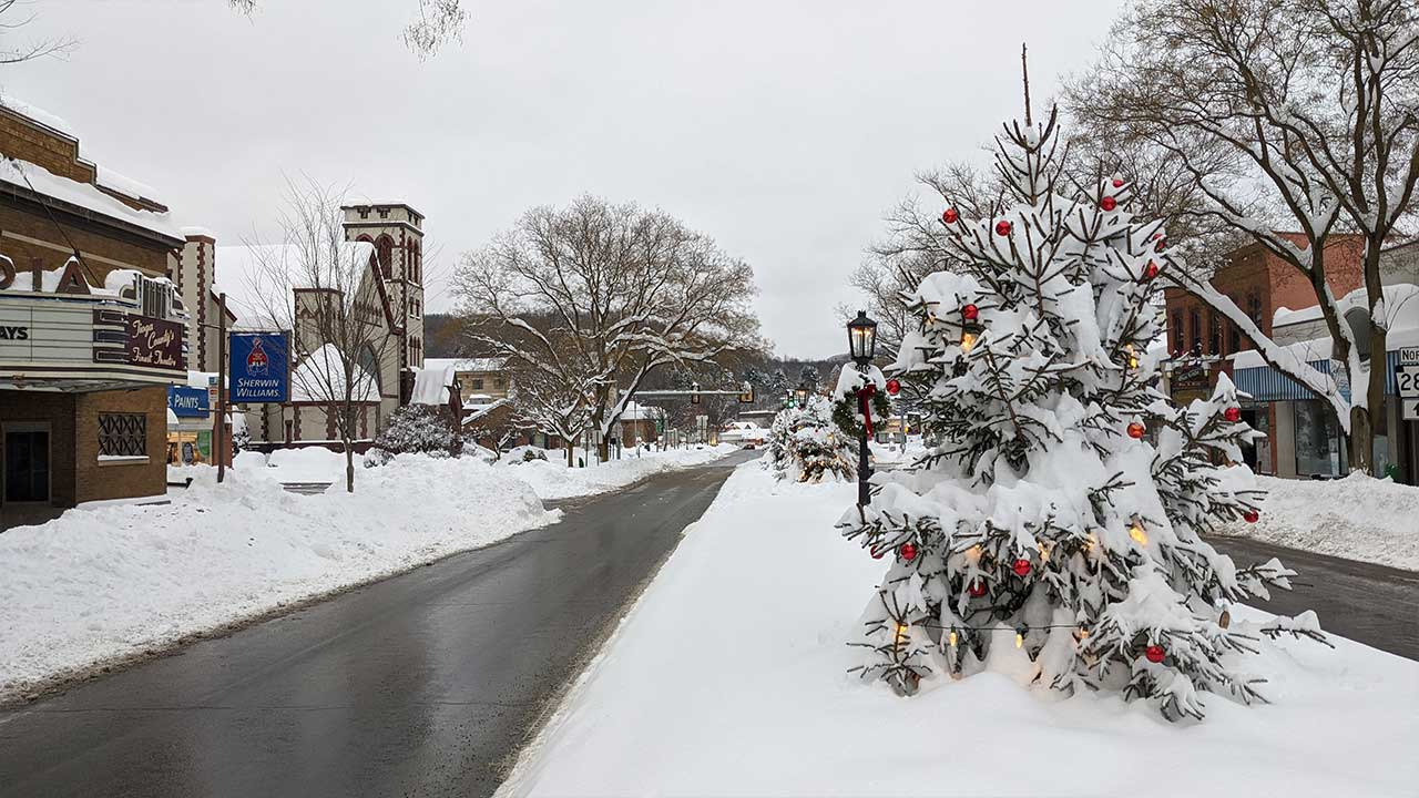 Nor'Easter Sweeps Tioga County