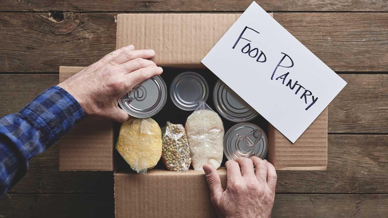 Food Pantries Feed Families