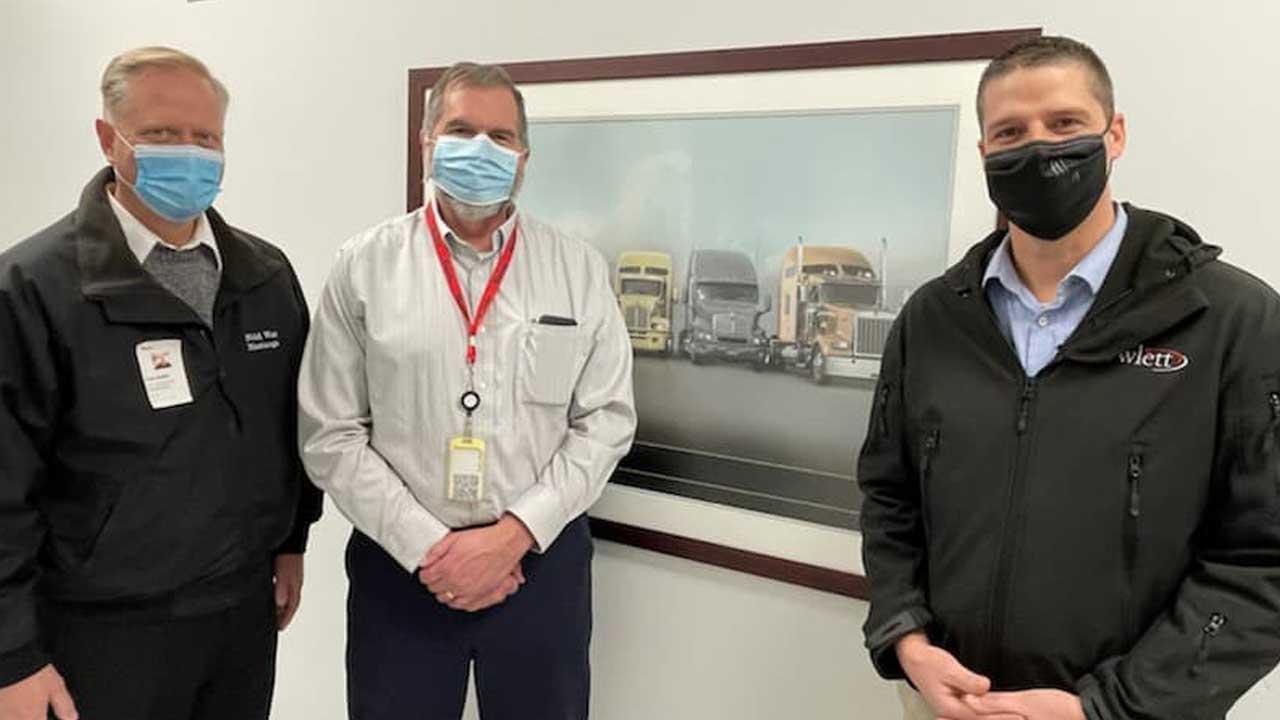 Congressman Keller & Rep. Owlett Tour Truck-Lite To Discuss Job Growth