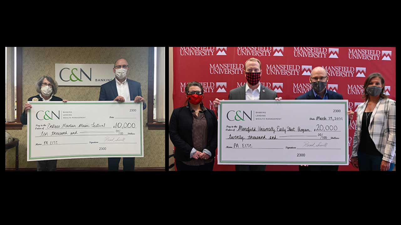 C&N Donates $800,000 to Benefit Local Education