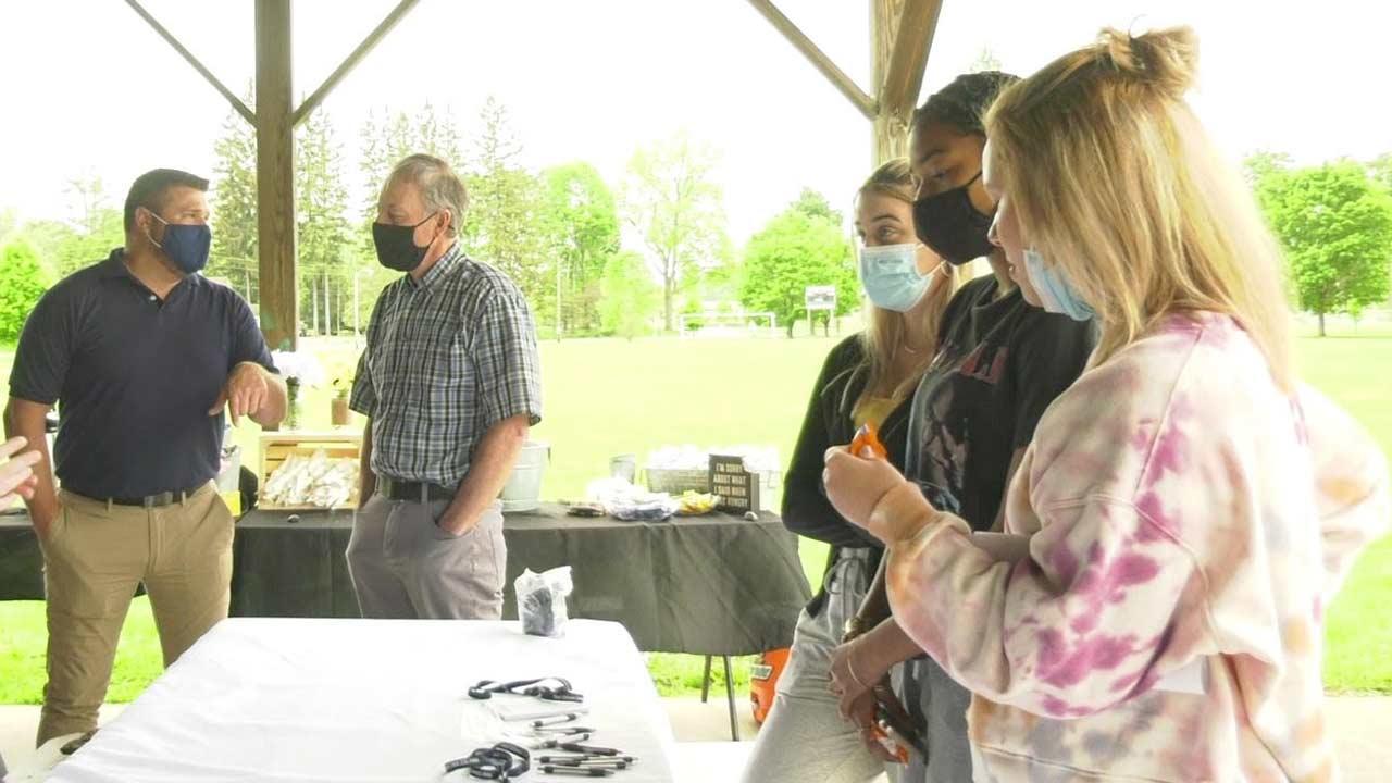 Blossburg Hosts Open Air Job Fair