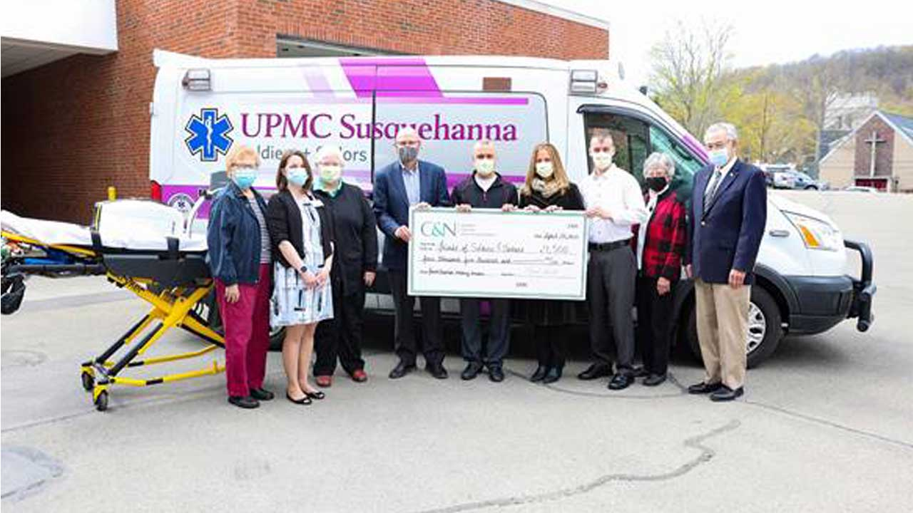 Friends of Soldiers + Sailors Meets Goal for UPMC Wellsboro