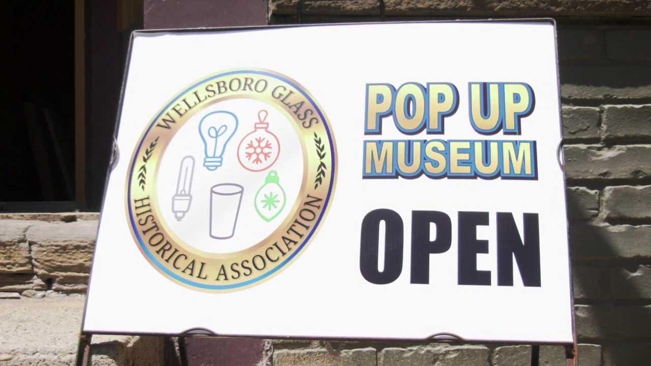 Pop-Up Museum Showcases History of Wellsboro & Glassmaking