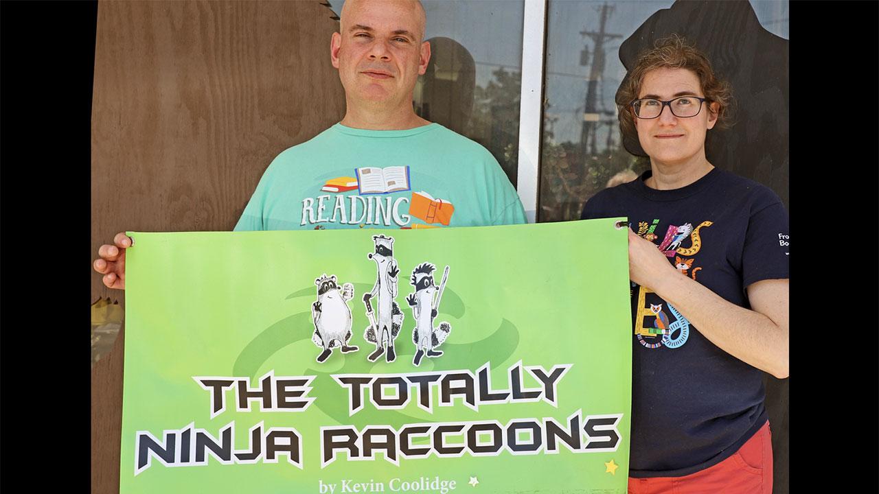 Where Are The Totally Ninja Raccoons?