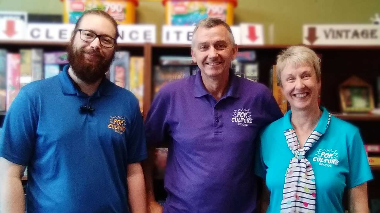 Pop's Culture Shoppe Reopening Playroom
