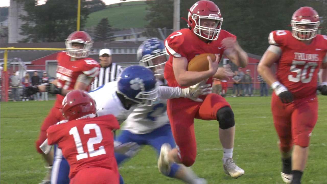 Trojans Shutout Panthers, 35-0