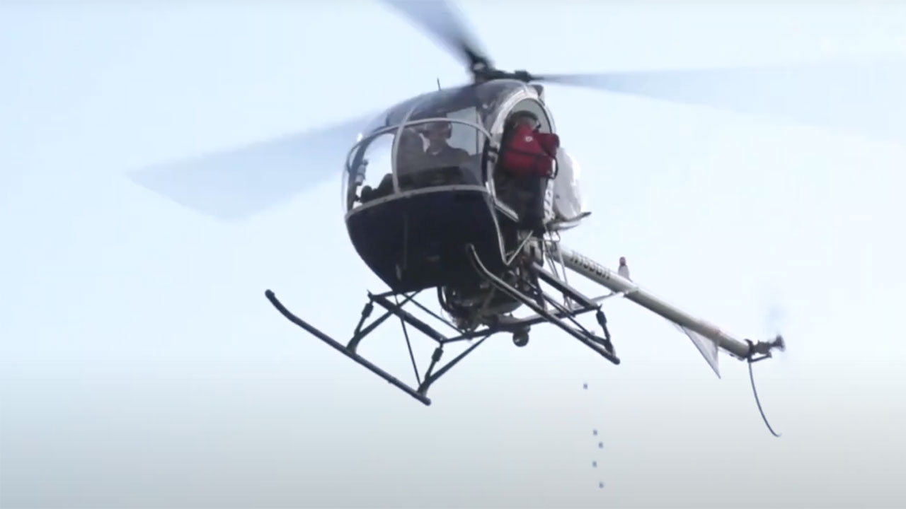Live Helicopter Golf Ball Drop Is This Saturday, Sept. 11